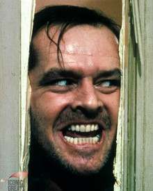 Jack Nicholson in The Shining (1980) Poster and Photo