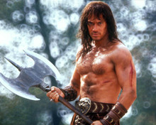 Kevin Sorbo in Kull the Conqueror Poster and Photo