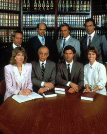 Cast in L.A. Law Poster and Photo