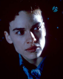 Hilary Swank in Boys Don't Cry Poster and Photo