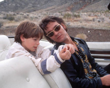 Brian Bonsall & Patrick Swayze in Fatherhood a.k.a. Father Hood Poster and Photo