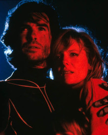 Jenny Wright & Pierce Brosnan in The Lawnmower Man Poster and Photo