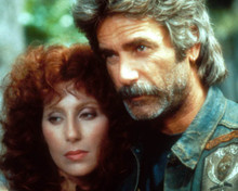 Cher & Sam Elliott in Mask Poster and Photo