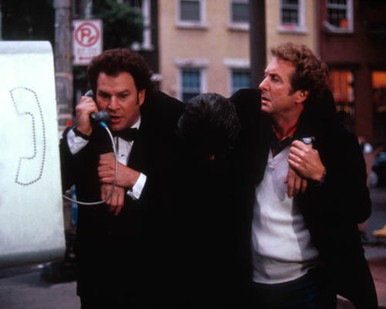 Robert Wuhl & Eric Idle in Missing Pieces Poster and Photo