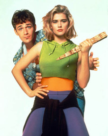 Luke Perry & Kristy Swanson in Buffy The Vampire Slayer (1992) Poster and Photo