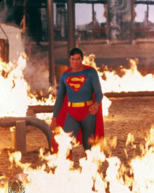 Christopher Reeve in Superman 3 Poster and Photo
