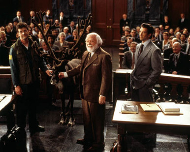 Dylan McDermott & Richard Attenborough in Miracle on 34th Street (1994) Poster and Photo