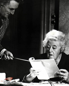 Margaret Rutherford & Ron Moody in Murder Most Foul Poster and Photo