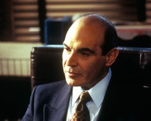 David Suchet in A Perfect Murder Poster and Photo