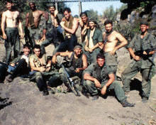 Cast in Platoon Poster and Photo