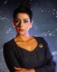 Marina Sirtis in Star Trek : The Next Generation Poster and Photo