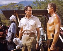 Jock Mahoney in Tarzan Goes to India Poster and Photo