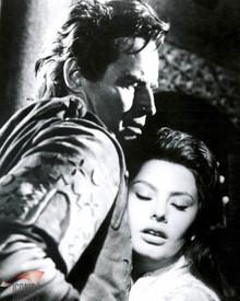 Charlton Heston & Sophia Loren in El Cid Poster and Photo