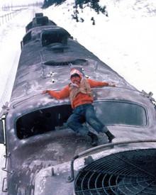 Jon Voight in Runaway Train Poster and Photo