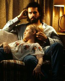 Jason Patric & Jennifer Jason Leigh in Rush Poster and Photo