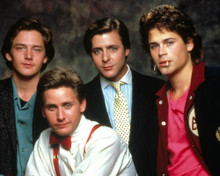 Cast in St. Elmo's Fire Poster and Photo
