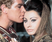 Sophia Loren & Stephen Boyd in The Fall of the Roman Empire Poster and Photo
