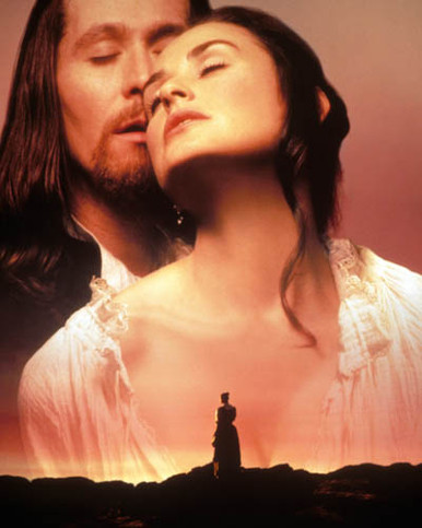 Gary Oldman & Demi Moore in The Scarlet Letter Poster and Photo