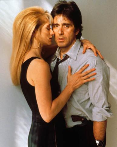 Al Pacino & Ellen Barkin in Sea of Love Poster and Photo