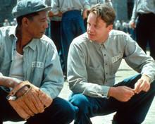 Morgan Freeman & Tim Robbins in The Shawshank Redemption Poster and Photo
