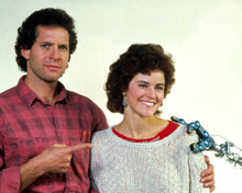 Steve Guttenberg & Ally Sheedy in Short Circuit Poster and Photo