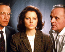 Anthony Hopkins & Jodie Foster in Silence of the Lambs Poster and Photo