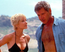 Harrison Ford & Anne Heche in Six Days, Seven Nights Poster and Photo