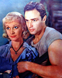 Marlon Brando & Vivien Leigh in A Streetcar Named Desire a.k.a. Un Tramway Nomme Desir Poster and Photo