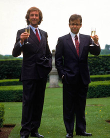 Rick Moranis & Eric Idle in Splitting Heirs Poster and Photo