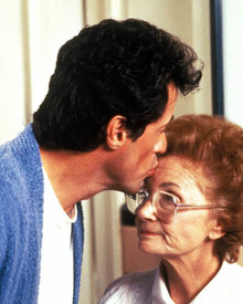 Sylvester Stallone & Estelle Getty in Stop! or My Mom Will Shoot Poster and Photo