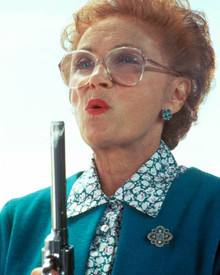 Estelle Getty in Stop! or My Mom Will Shoot Poster and Photo