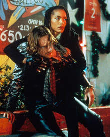 Ralph Fiennes & Angela Bassett in Strange Days Poster and Photo