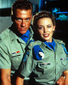 Jean-Claude Van Damme & Kylie Minogue in Street Fighter Poster and Photo