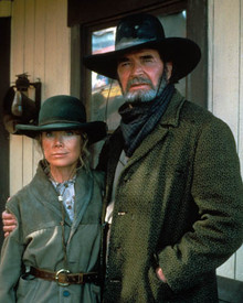 James Garner & Sissy Spacek in Streets of Laredo Poster and Photo