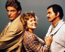 Christopher Reeve & Burt Reynolds in Switching Channels Poster and Photo