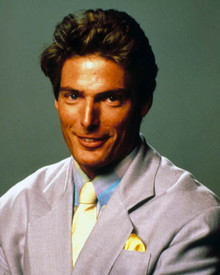 Christopher Reeve in Switching Channels Poster and Photo