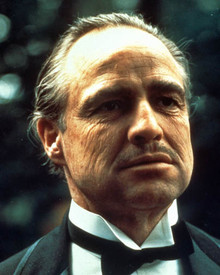 Marlon Brando in The Godfather Poster and Photo