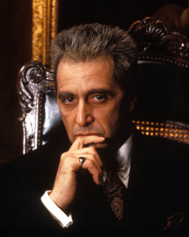 Al Pacino in The Godfather: Part III Poster and Photo