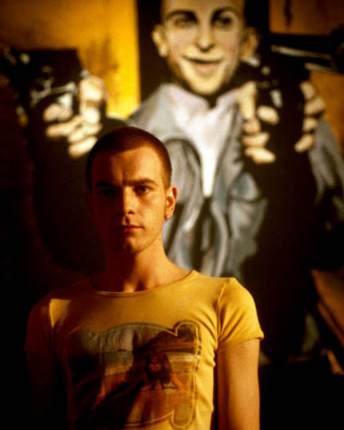 Ewan McGregor in Trainspotting Poster and Photo