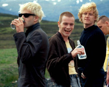 Ewan McGregor & Jonny Lee Miller in Trainspotting Poster and Photo