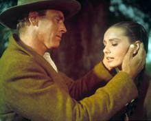 Burt Lancaster & Audrey Hepburn in The Unforgiven Poster and Photo