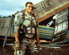 Dolph Lundgren in Universal Soldier Poster and Photo
