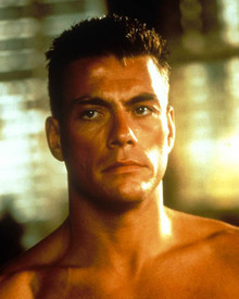 Jean-Claude Van Damme in Universal Soldier Poster and Photo