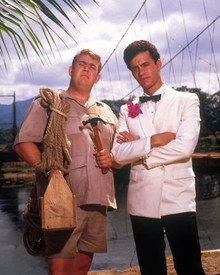 Tom Hanks & John Candy in Volunteers Poster and Photo