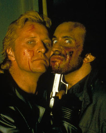 Rutger Hauer & Gene Simmons in Wanted Dead or Alive (1986) Poster and Photo