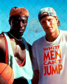 Woody Harrelson & Wesley Snipes in White Men Can't Jump Poster and Photo
