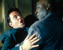 Matthew Perry & Michael Clarke Duncan in The Whole Nine Yards Poster and Photo