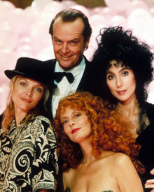 Jack Nicholson & Cher in The Witches of Eastwick Poster and Photo