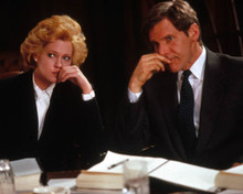 Melanie Griffith & Harrison Ford in Working Girl Poster and Photo