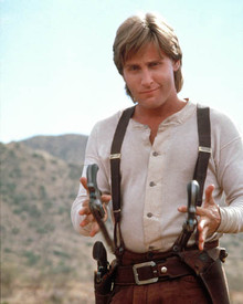 Emilio Estevez in Young Guns II Poster and Photo